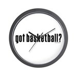 got basketball? Wall Clock