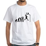 Basketball Evolution White T-Shirt