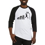 Basketball Evolution Baseball Jersey