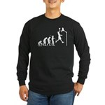 Basketball Evolution Long Sleeve Dark T-Shirt