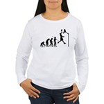 Basketball Evolution Women's Long Sleeve T-Shirt