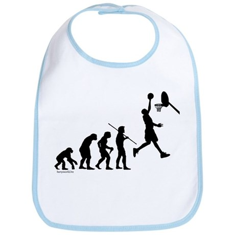 Basketball Evolution Bib