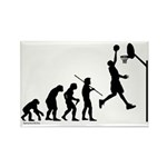 Basketball Evolution Rectangle Magnet (10 pack)