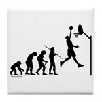 Basketball Evolution Tile Coaster