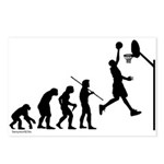 Basketball Evolution Postcards (Package of 8)