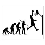 Basketball Evolution Small Poster