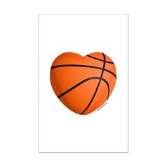 Basketball Love Posters