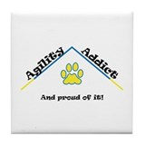 Agility Addict Tile Coaster