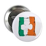 Irish White Shamrock Flag 2.25