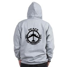 B-52 Peace the Old Fashioned Way Zip Hoodie
