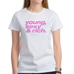Pink Young Sexy Women's T-Shirt