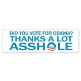 Anti-Obama Bumpersticker