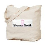 Shawna Smith pink ribbon Tote Bag