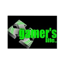 IT'S A GAMER'S LIFE Rectangle Magnet