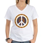 CND Psychedelic3 Women's V-Neck T-Shirt