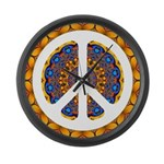 CND Psychedelic3 Large Wall Clock