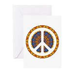 CND Psychedelic3 Greeting Cards (Pk of 10)