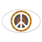 CND Psychedelic3 Oval Sticker
