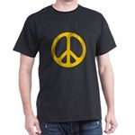 Yellow CND logo Dark T-Shirt