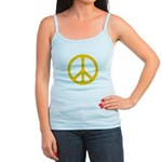 Yellow CND logo Jr. Spaghetti Tank