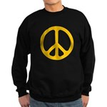 Yellow CND logo Sweatshirt (dark)