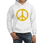 Yellow CND logo Hooded Sweatshirt