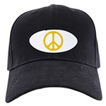 Yellow CND logo Black Cap