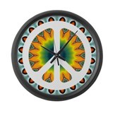 CND Psychedelic5 Large Wall Clock