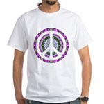 CND Floral3 White T-Shirt