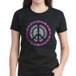 CND Floral3 Women's Dark T-Shirt