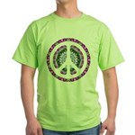 CND Floral3 Green T-Shirt