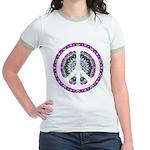 CND Floral3 Jr. Ringer T-Shirt
