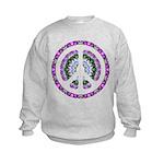 CND Floral3 Kids Sweatshirt