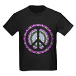 CND Floral3 Kids Dark T-Shirt