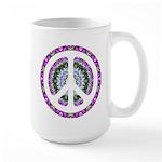 CND Floral3 Large Mug