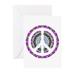CND Floral3 Greeting Cards (Pk of 10)