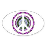 CND Floral3 Oval Sticker