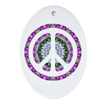 CND Floral3 Oval Ornament