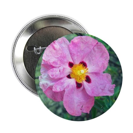 "Spot Flower 2.25"" Button"