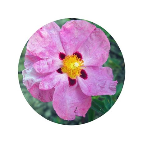 "Spot Flower 3.5"" Button"