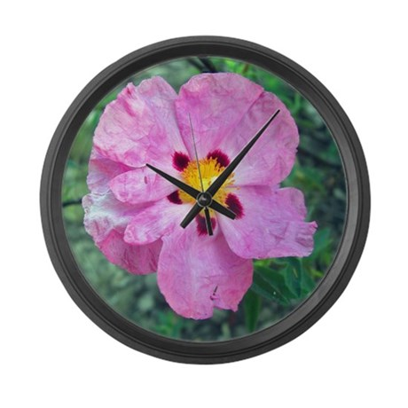 Spot Flower Large Wall Clock