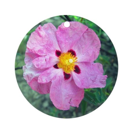 Spot Flower Ornament (Round)