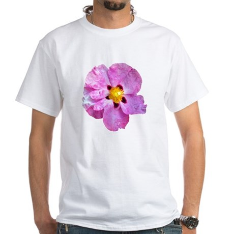 Spot Flower White T-Shirt