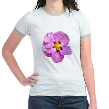 Spot Flower Jr. Ringer T-Shirt