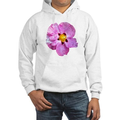 Spot Flower Hooded Sweatshirt