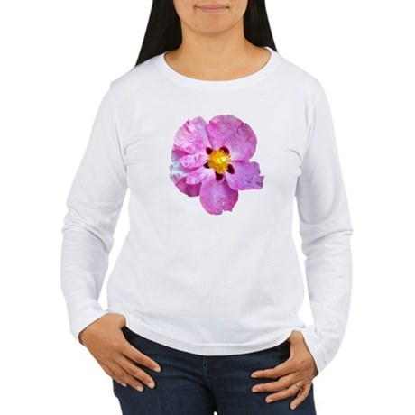 Spot Flower Women's Long Sleeve T-Shirt
