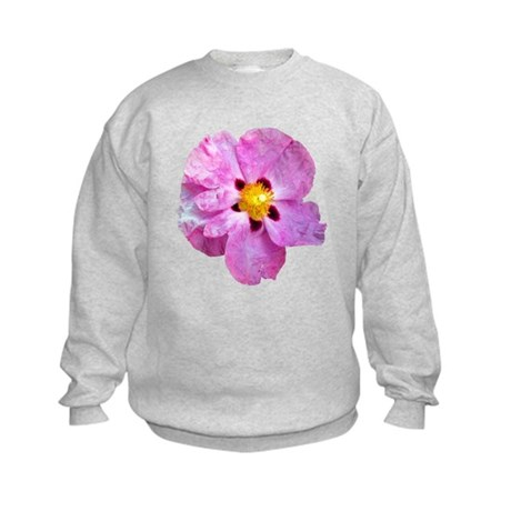 Spot Flower Kids Sweatshirt