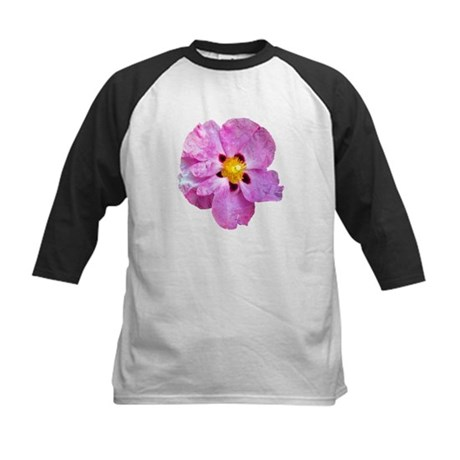 Spot Flower Kids Baseball Jersey
