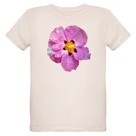 Spot Flower Organic Kids T-Shirt