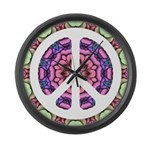 CND Floral5 Large Wall Clock